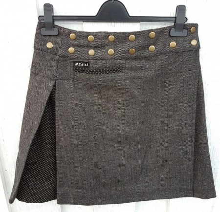 Skjørt, tosidig, Tweed sugarfree long/standard, 3