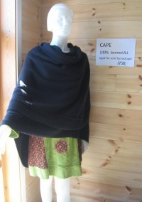 Ull, sjal & cape