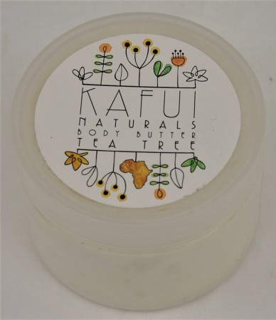 Kafui Naturals Body Butter - Tea Tree